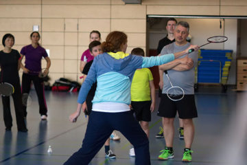 Badminton-Trainingstag beim TB Sinzheim